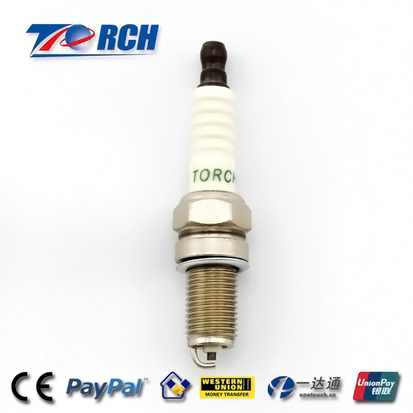 Nickel Plated Motorcycle Spark Plugs , 0.8mm Gap Spark Plugs For Honda Motorcycles