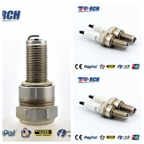M10x1 Thread Motorcycle Spark Plugs for CPR8 E, CPR8EA9, N24EXRB,RG6YCH