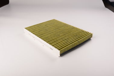 China VW Auto Cabin Filter Replacement Durable Paper Heat Welding 6200 Miles Warranty supplier