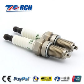 China Nickel Plated Motorcycle Spark Plugs , 0.8mm Gap Spark Plugs For Honda Motorcycles  supplier