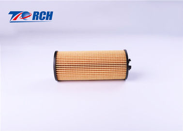 China Yellow Engine Oil Filter , HYUNDAI Paper Oil Filter 99.7% Filtration Efficiency supplier