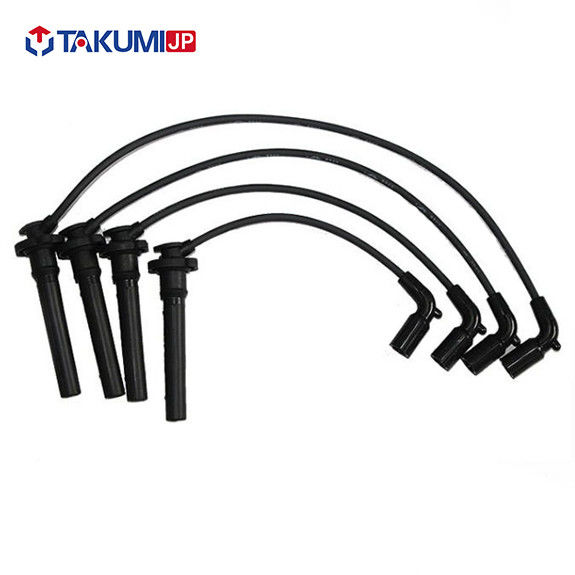 High Voltage Spark Plug Cables Set , Mazda Silicone Spark Plug Leads 100% Tested supplier