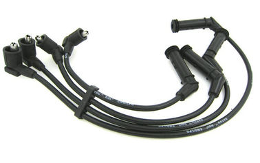 China High Voltage Spark Plug Cables Set , Mazda Silicone Spark Plug Leads 100% Tested distributor