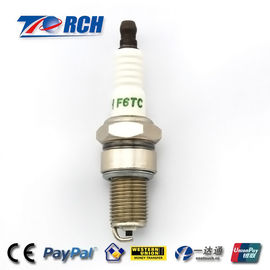China Motorcycle spark plug F6TC match for BP6ES /WR7DP/W7DC/A-Line 4/N9YC/W20EPR/C62LS factory