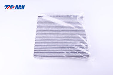 China 4 Runner Car Cabin Filter 29mm Thickness White Fiber With Gule Fit Corolla Camary distributor