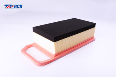 China PU Frame Automobile Air Filter , Yellow High Flow Auto Air Filters 055129620 distributor